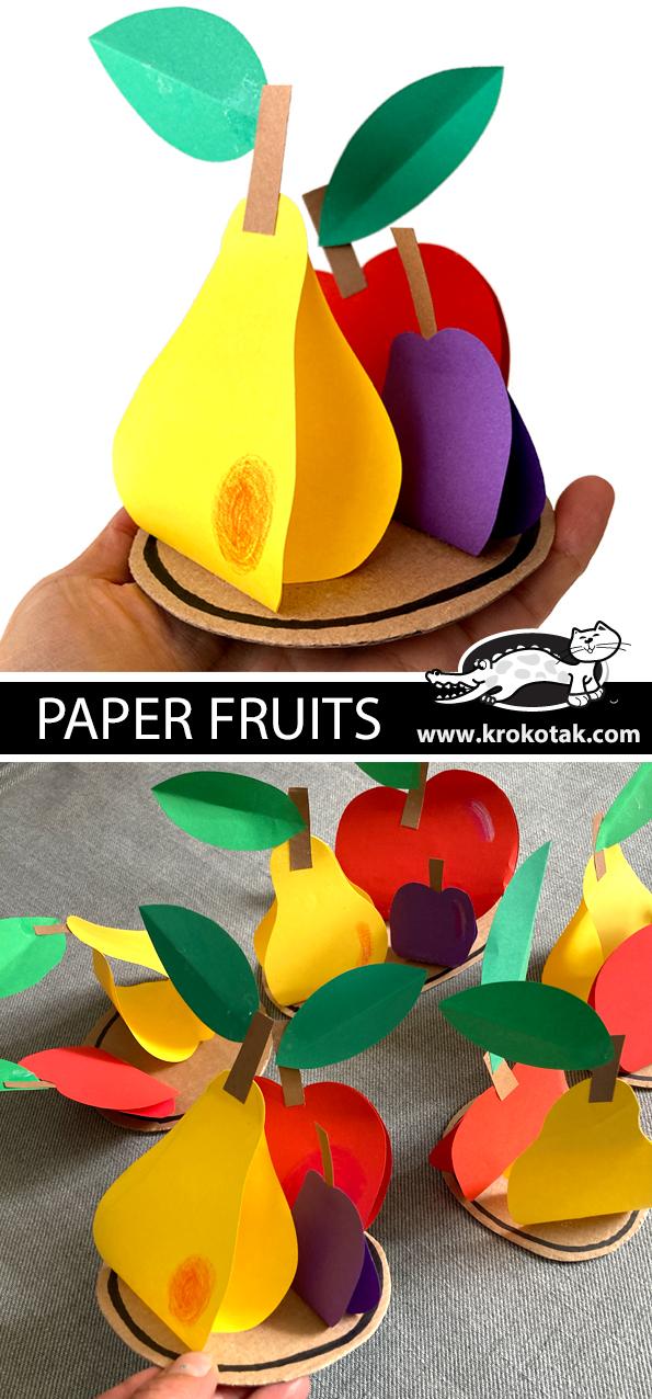 Papírové ovoce